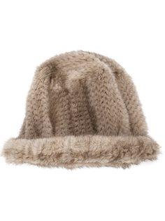 шапка из меха норки Co