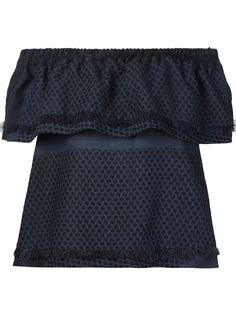 блузка со спущенными плечами  Cecilie Copenhagen