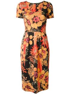 floral print midi dress Osklen