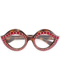 очки с кристаллами Swarowski Gucci Eyewear