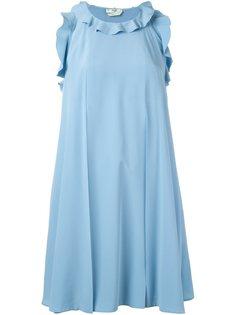 платье с оборками Fendi