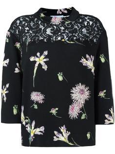 джемпер с цветочным рисунком Blumarine