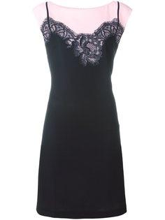 платье с кружевным принтом  Boutique Moschino