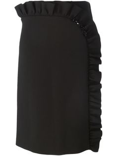 юбка с асимметричной оборкой Simone Rocha