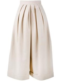cropped pleated trousers Delpozo