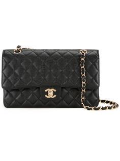 маленькая сумка с откидным клапаном 'CC' Chanel Vintage