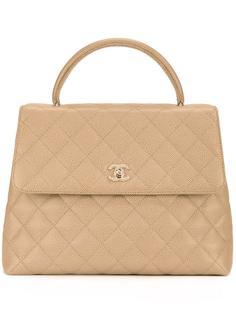 стеганая сумка 'CC' Chanel Vintage