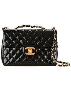 сумка на плечо с логотипом 'CC' Chanel Vintage