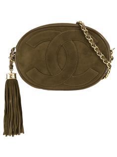 маленькая сумка на плечо овальной формы Chanel Vintage