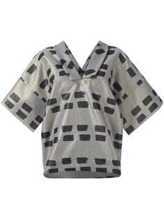 блузка с V-образным вырезом Vivienne Westwood Anglomania