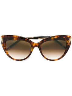 """солнцезащитные очки с оправой """"кошачий глаз"""" Boucheron"""