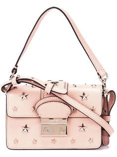 сумка-тоут с золотистыми звездами Red Valentino