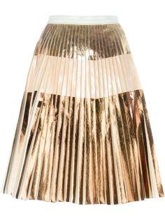 плиссированная юбка А-силуэта Proenza Schouler