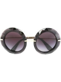 солнцезащитные очки в круглой оправе Dolce & Gabbana