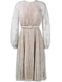 плиссированное платье 'Rhona'  Erdem