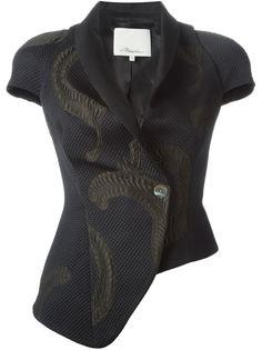 асимметричный пиджак с короткими рукавами 3.1 Phillip Lim