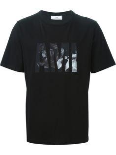 футболка с принтом логотипа Ami Alexandre Mattiussi