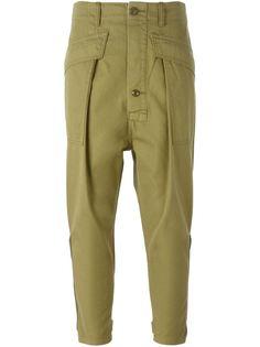 укороченные брюки карго Nlst