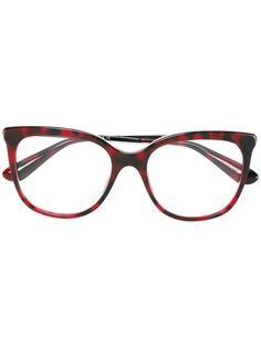 очки в оправе 'кошачий глаз' Dolce & Gabbana