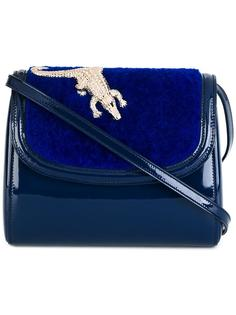 crocodile detail shoulder bag  Amélie Pichard