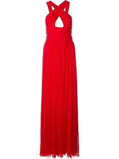 длинное вечернее платье  Roberto Cavalli