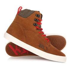 Кеды кроссовки высокие K1X State Le Dark Honey/Red