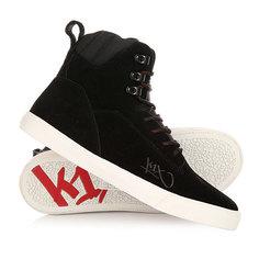 Кеды кроссовки высокие K1X State Le Black/Red