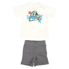 Комплект футболка и шорты детский Quiksilver Beach Pack Wave Metal