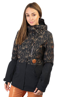 Куртка женская Billabong Rich Dip Black Toffee