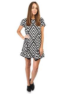 Платье женское Billabong Goldy Night Black/White