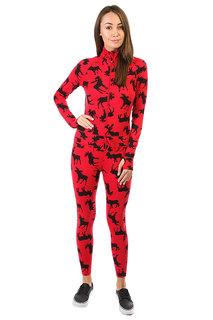 Термобелье (комбинезон) женское Airblaster Hoodless Ninja Suit Moose