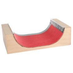Фигура для фингерпарка Turbo-FB МиниРампа S Beige/Red/Grey
