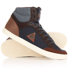 Кеды кроссовки высокие Le Coq Sportif Portalet Mid Craft Hvy Cvs/Suede Dress