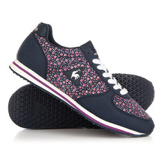 Кроссовки женские Le Coq Sportif Bolivar Micro Flowers Dress Blue/Spark