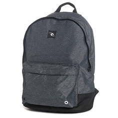 Рюкзак городской Rip Curl Ripstop Heather Dome Black