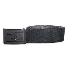Ремень Rip Curl Ripper Revo Webbed Belt Black