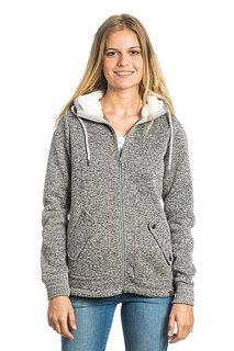 Толстовка классическая женский Rip Curl Active Heather Polar Fleece Frost Grey