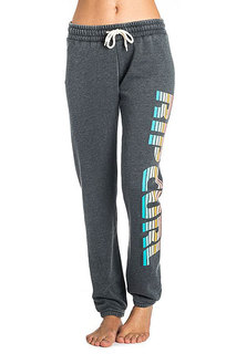 Штаны спортивные женские Rip Curl Active Logo Trackpant Black