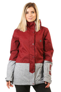Куртка женская DC Shoes Defy Cordovan Red