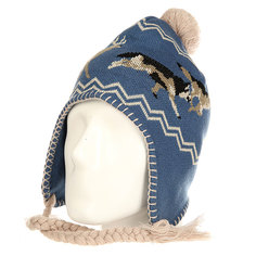 Шапка ушанка Ashbury Hunt Beanie Blue