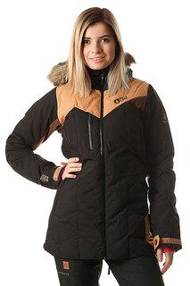 Куртка утепленная женская Picture Organic Fly Exp Black Brown