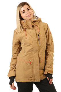 Куртка женская Roxy Tb Andie Bone Brown