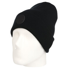Шапка TrueSpin Black Is Usual Beanie Black