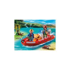 В Поисках Приключений: Лодка с браконьерами, PLAYMOBIL Playmobil®