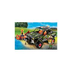 В Поисках Приключений: Пикап с лодкой, PLAYMOBIL Playmobil®