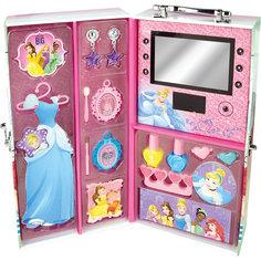 """Игровой набор детской косметики """"Принцессы Диснея"""" в чемодане (подсветка) Markwins"""