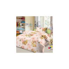 Постельное белье Кошки-мышки (нав.50*70), Letto, розовый