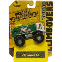 Машинка Climb-overs Мусоровоз, Tonka