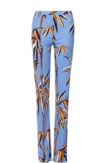 Расклешенные брюки с контрастным принтом Emilio Pucci