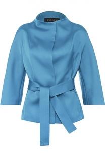 Жакет-кимоно с поясом и укороченным рукавом Escada